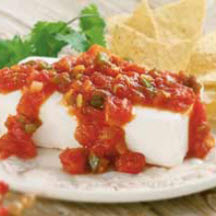 Cream Cheese and Salsa Dip