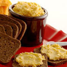 German Beer Spread with Swiss and Cheddar Cheeses