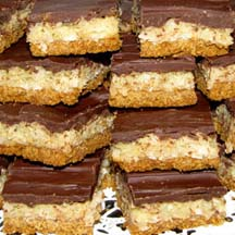 Chocolate-Coconut Mounds Bars
