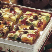 Chocolate Chip Fruit and Nut Bars