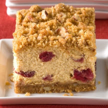 Cranberry Pumpkin Crumble Cheesecake Squares