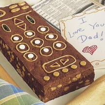 Dad's Remote Control Brownies