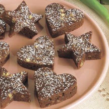Fudgey Brownie Cut-Outs