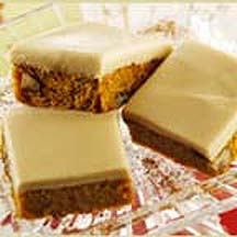 Penuche Pumpkin Bars
