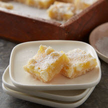 White Chip Lemon Bars