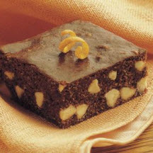 White Chip Orange Brownies