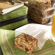 Whole Grain Banana Fruit 'N Nut Bars