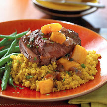 Aji-Beef Short Ribs with Golden Herbed Quinoa