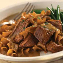 German Beef Pot Roast with Mushroom Leek Sauce