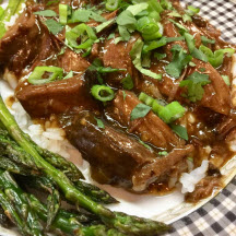 Slow-Cooker Asian-Style Beef Chuck Roast