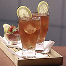 Iced Strawberry Tea