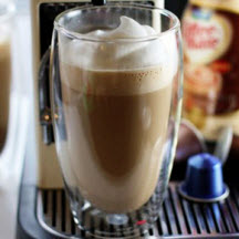 Spiced Hazelnut Latte