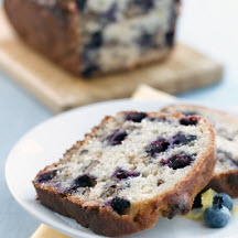 Lemon Blueberry Walnut Bread