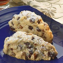 Special Dark Chocolate Chip Scones