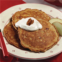 Apple-Bran Pancakes