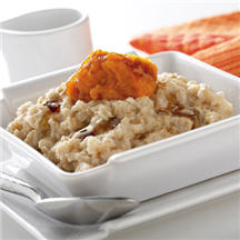 Early Morning Pumpkin Maple Oatmeal