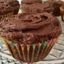 Frosted Brownie Cupcakes