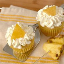 Honey Roasted Pineapple Cupcakes