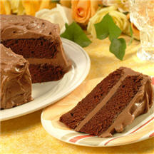 Moist and Chewy Chocolate Cake