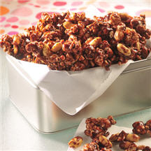 Milk Chocolate Popcorn