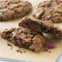 Chewy Cherry Chocolate Cookies