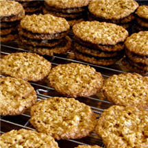 Crispy Orange Oatmeal Cookies