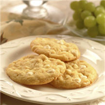 Lemon Nut White Chip Cookies