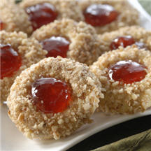 Strawberry Thumbprints