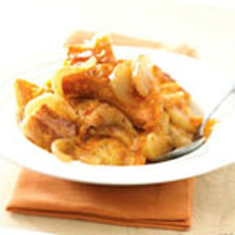 Apple and Aged Cheddar Bread Pudding