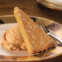 Autumn-Spiced Pumpkin Shortbread