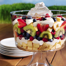 Berries and Cream Smooth Trifle