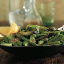 Asparagus with Sesame-Ginger Sauce