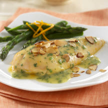 Citrus Glaze Chicken with Almonds