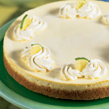 Cool Lime Cheesecake