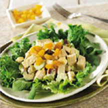 Curried Turkey and Apple Salad