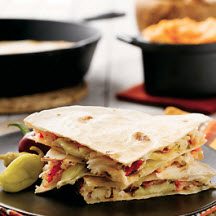 Alaska Crab and Artichoke Quesadilla