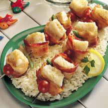 Bacon Cod Kabobs