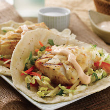 Black Thai Grilled Alaska Cod Tacos