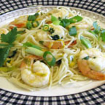 Citrus Shrimp with Angel Hair Pasta