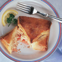 Crab and Tomato Parcels