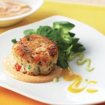 Delta Catfish Cakes with Comeback Sauce