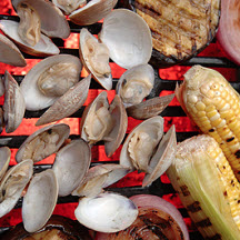Easy Grilled Clams