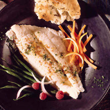 Flounder Fillets with Carrots