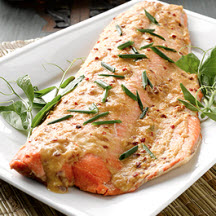 Great Grilled Alaska Salmon with Asian Seasoning