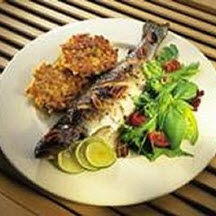 Grilled Pecan Trout.