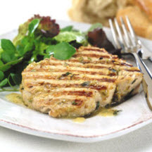 Grilled Tuna with Fennel and Thyme