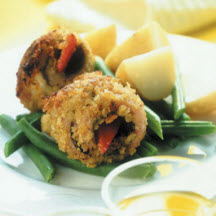 Herring and Red Pepper Rolls