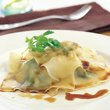 Prawn, Macadamia and Coriander Ravioli
