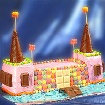Birthday Castle Cake