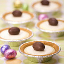 Mini Spring Cheesecakes